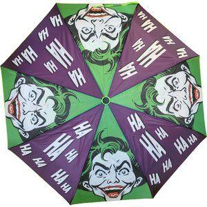 Batman Joker Fans Automatic Open Rain Umbrella